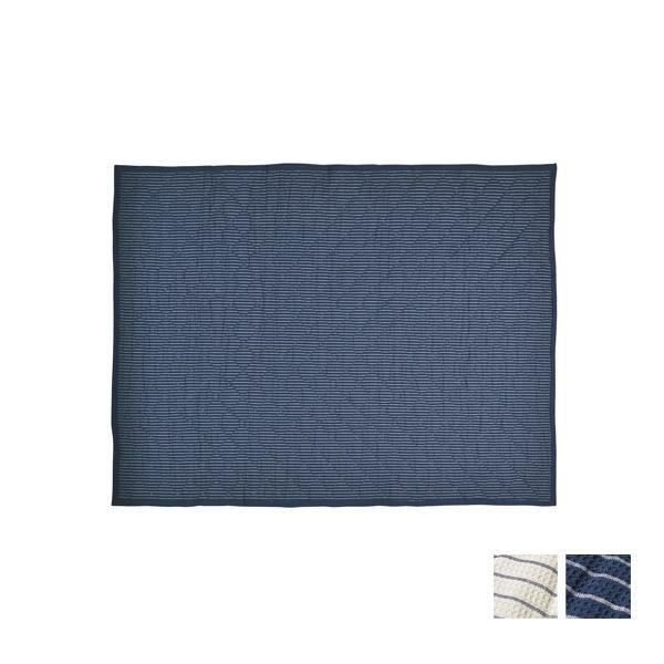 インド綿キルトラグ 約130×185cm